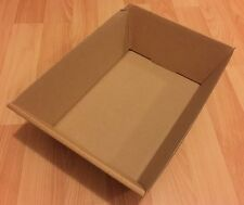 50x Kartonschalen Lager Karton 31x23x9cm Lagerkarton Lagerbox Lager Box