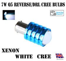1x Q5 CREE BAYONET BULB 7W WHITE CREE P21W 1156 BA15S REVERSE LED AUDI GOLF FORD