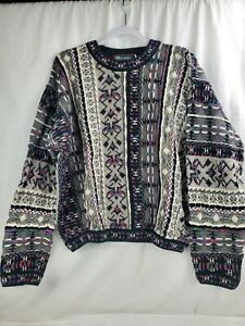 Vintage Tundra Mens Knit Sweater XL