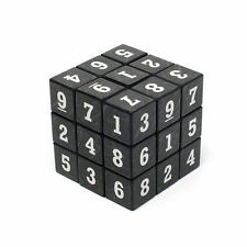 SUDOKU Math Puzzle Cube 3x3 Rubics Rubix Number Game Toy Brain Teaser Games NEW
