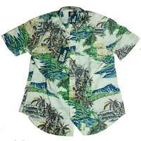 Reyn Spooner Mens Hawaiian Shirt Size XXL Diamond Head Tailored Fit New
