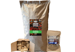 Fuel Lodge BBQ Charcoal Starter Pack - High Quality Charcoal UK made