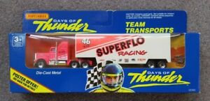 MATCHBOX 'DAYS of THUNDER' - KENWORTH TEAM TRANSPORT 'SUPERFLO RACING TEAM'