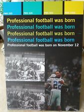 """Pro Football Hall of Fame Lg. Display Proof Emmitt Smith, Marcus Allen 24""""x34.5"""""""