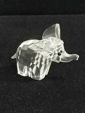Marked Swarovski Crystal Elephant Figurine No Box