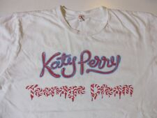 KATY PERRY TEENAGE DREAM T-SHIRT-MEDIUM RARE 2010 CD ALBUM LP TOUR CONCERT