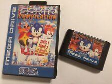 Compilación De Sonic Sega Megadrive Sonic 1 + 2 + DR. Robotnik's Mean Bean Machine