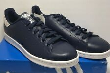 Adidas Originals Womens Size 11 Stan Smith Sneakers Shoes Navy Casual Sneakers