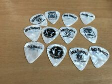 1 Jack Daniels WHITE  Pearlescent  THIN   Pick