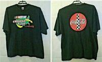 Nascar Vintage 90s Mens 2XL College Tour Coca Cola Graphic T Shirt Size 2XL