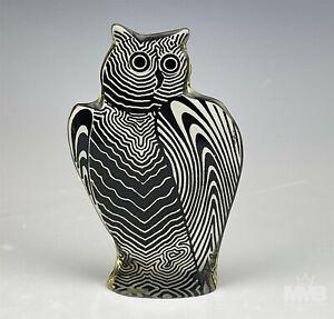 Abraham Palatnik Mid Century Modern Op Art Lucite Wise Owl Bird Sculpture SJS