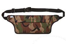 Aqua Quest AquaRoo Waterproof Money Belt Waist Bag Fanny Pack - Camouflage