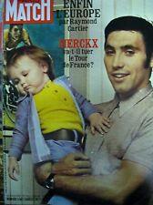 PARIS MATCH N° 1156 CYCLISME MERCKX ROMY SCHNEIDER EVA BRAUN HITLER 1971