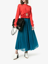 RARE Celine Runway sheer pleated skirt (dress sweater)  Size 40 £1500