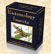 300 Rare Entomology Books on DVDs - Study Insects Zoology Butterflies Nature 239