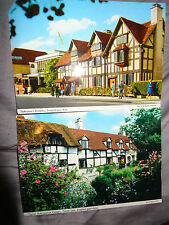 John Hinde Ltd Collectable Warwickshire Postcards