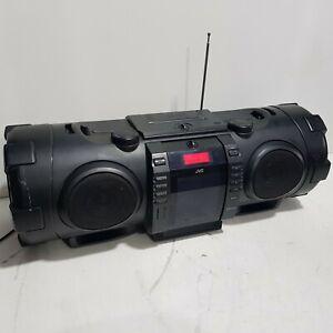 JVC RV-NB75B Ghetto Blaster Portable Stereo Bluetooth Boomblaster iPhone CD USB
