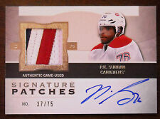 "2012/13 P.K. SUBBAN UD THE CUP ""SIGNATURE PATCHES"" 3 COLOR PATCH AUTO  / 75"
