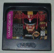 Judge Dredd (Sega Game Gear, 1995) Game & Clamshell Case (NTSC)