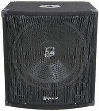 "QT18S Bass box 45cm (18"") - 500W"