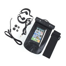 NEW Swimming Sport MUSIC IN WATER Waterproof Cell Phone Case Bag 140*90mm LC