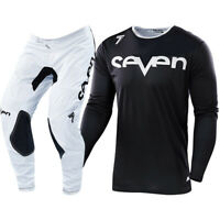 NEW Seven MX 2019 Annex Staple Jersey Pants Black White Motocross Gear Set