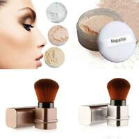 Powder Mineral Foundation Blending Blush Buffing Brush Makeup Tools FIN