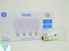 GE Basic 60-Watt EQ A19 Daylight LED Light Bulb (8-Pack)