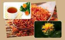 100G 100% NATURAL THAI HERB DRIED SAFFRON SAFFLOWER TEA ORGANIC PREMIUM QUALITY