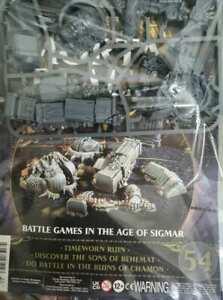 "Warhammer AoS Mortal Realms ""Timeworn Ruin"" Sealed (Issue 54)"
