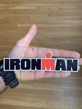 "Ironman Sticker 7"" Decal Triathlon Running Marathon Swimming Cycling Biking Tri"