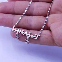 collier nom bérbére amazigh maroc afrique - necklace name berber amazigh morocco