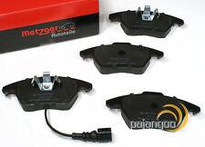 Skoda Yeti 5L - Metzger Forros de Freno Pastillas Cable Advertencia para Delante