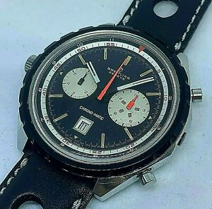 RARE VINTAGE BREITLING CHRONO-MATIC Ref 7651 AUTOMATIC CAL 11 FROM 1968 48 MM