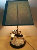 Walt Disney Mickey Mouse Plane Crazy 1928 Table Lamp VERY RARE Damaged