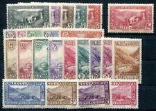 FRANZÖSISCH ANDORRA 1932 24-47 * ohne Nr 40 SATZ (S2820