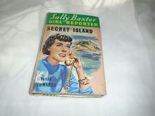 Sally Baxter Girl Reporter volume  w/dustjacket The Secret Island #14