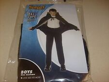CAPE DRACULA BATMAN VAMPIRE HALLOWEEN  COSTUME BOY GIRL- KIDS ONE SZ MOST NEW