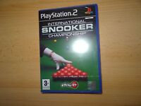 International Snooker Championship New & Sealed ps2 uk pal version