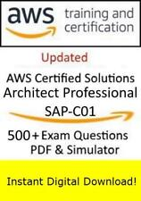 AWS Certified Solutions Architect Professional SAP-C01 (500+ PDF Sim->Email)