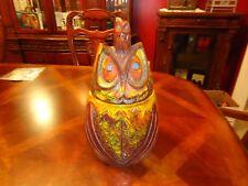 Pacific Stoneware Pottery SNOOTY HOOTY OWL #3613 Cookie Jar Scarpino USA 1968