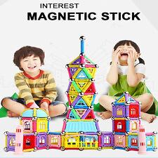 103pcs Magnetic Sticks Building Blocks Puzzles Construction Toys Kit Kids Child