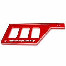 Red Polaris RZR XP 1000 Left Side With 3 Switch Dash Panel Side By Side UTV Part