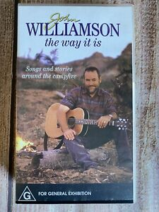 John Williamson The Way It Is VHS ~ Songs & Stories around the campfire