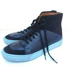Kurt Geiger Bryson Navy Leather Mens Sneakers Size 43 / 10.5 US
