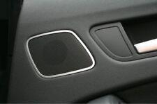 Audi A4 S4 RS4 Avant Allroad 8K Alu Dekoreinlage Lautsprecher Hochtöner hinten