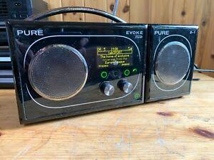 Pure DAB Radios - Evoke 3, Evoke Flow + S1 Speaker, Sonus 1, Chargepak Battery