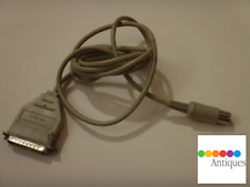 Apple IIc to Apple ImageWriter I or Scribe Printer Serial Cable 590-0191-A RARE