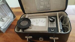Vintage EEL Lightmaster Portable Photometer light meter photography Air Ministry