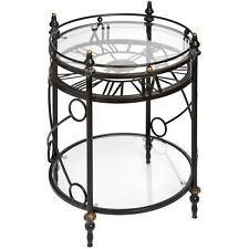 CLOCK SIDE TABLE - PERFECT ADDITION TO YOUR HOME.